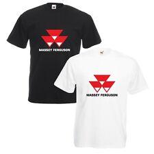 Massey Ferguson T-Shirt VARIOUS SIZES & COLOURS Tractor Enthusiast Farming Etc