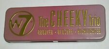 W7 The CHEEKY Trio Bronzer, Blusher, Highlighter