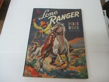 Lone Ranger Paint Book- Whitman #604 1941- rare