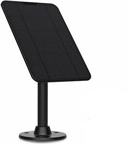 4W Solar Panel for Ring Video Doorbell 2,360°Aluminum Bracket mount,Weatherproof