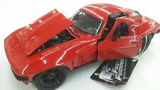 JADA Fast And Furious Chevy Corvette 1966 1:24 Diecast Car