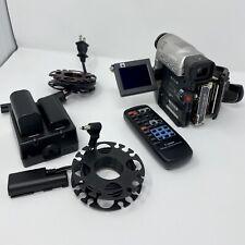 Canon Elura A Mini Dv Camcorder, Silver, Handheld, Accessories