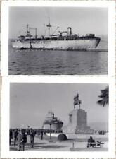 1953 Smyrna Greece Izmir Turkey Atatürk Statue USS Eltinge AP-154 Ship Photos