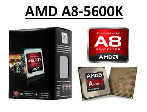 AMD A8-5600K Quad Core Processor 3.6 - 3.9 GHz, Socket FM2, 100W CPU