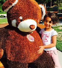 GIANT 5 Foot Plush Red Panda Kriza Teddy Bear ULTRA SOFT Stuffed Animal