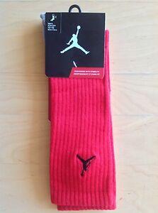 🏀 NEW NWT Air Jordan Jumpman 23 Red Socks Nike 12 - 15 ( 46 - 50 Europe ) XL
