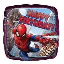 Spider Man Happy Birthday Foil Balloon 43 cm (17 in) Party Event Decoration