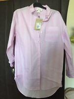 Monki Pink Cotton Shirt
