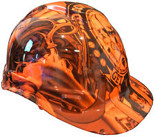 Hard Hat Ridgeline Standard Orange Wonder Woman w/ Free BRB Customs T-Shirt