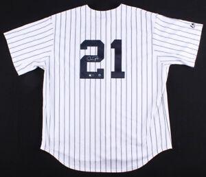 Dan Pasqua Signed New York Yankees Majestic Authentic Jersey (TriStar Hologram)