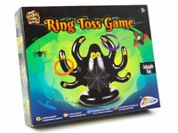 Halloween Game INFLATABLE SPIDER RING TOSS & 4 RINGS Childrens Party Toy R010429