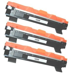 KIT 3 TONER TN-1050 COMPATIBILE BROTHER DCP-1610W DCP-1612W HL-1210W HL-1212W