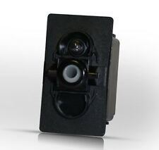 VLD1A60B - mom(ON)-OFF-mom(ON) DPDT Carling Contura Rocker Switch, boat marine