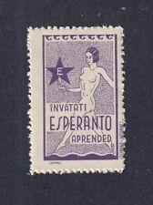 Spain Poster Stamp  ESPERANTO