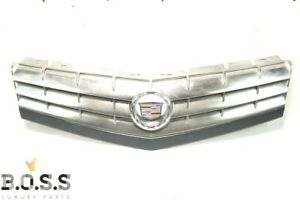 04-08 Cadillac XLR Center Hood Grille Grill Assembly OEM Polished Silve 10348679