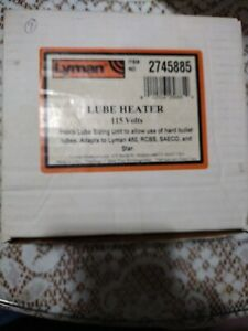 Lyman 2745885 High-Temperature/Temp Bullet Reload Lubrication Lube/Sizer Heater