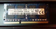 Hynix 8 GB 2Rx8 PC3L-12800S HMT41GS6BFR8A sodimm notebook memoria RAM