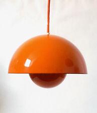 "60s Louis Poulsen ""Flowerpot"" Lampe Verner Panton 1 of 3 pendant lamp annees 60"