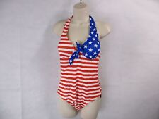 For G and PL S July 4th Push Up Maillot One-Piece Swimsuit *See Description* NEW