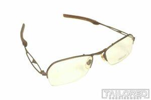NEW - MATSUDA 10162 Half Rim Brown RX Eyeglasses Frame GLASSES