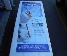 Disney Rare Diamond Celebration Promotional Only Vinyl Banner Large 5'X2'