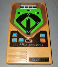 Mattel Classic Baseball Electronic Handheld Travel Game 2001