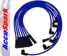 Ford v6 Moter Essex 8mm Accuspark Azul Silicona Ht Cable con 75cm Bobina de