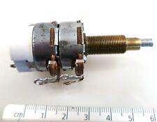 AB Ltd Dual Gang 100KΩ Switch & Potentiometer Solder Tags Panel Mount OM1146B