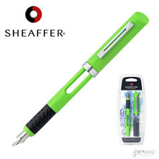 Sheaffer Calligraphy Fountain Pen, Lime Green, 2.0 mm Broad Nib