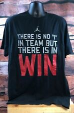 Nike Jumpman Men's XL T-shirt There Is No I In Team But There Is In Win