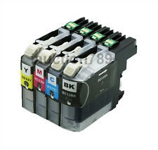 4x Compatible Ink Cartridges LC233 For Brother MFC J5720DW J680DW J880DW Printer