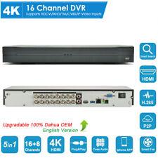Dahua Oem 16Ch 4K H.265+ Dvr Xvr Cvi/Tvi/Ahd/Cvbs/Ip 5in1 Digital Video Recorder