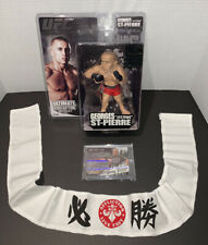 Georges St-Pierre Ring Kings Donruss Americana Auto UFC/MMA RC Card /250 + Extra