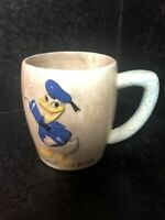 ORIGINAL VINTAGE WALT DISNEY DONALD DUCK CERAMIC CUP / MUG Collection Very Old