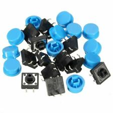 20pcs 4Pin Blue Tactile Push Button Favorable Waterproof Products Electronic of