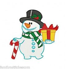 Christmas Time Snowman 10 Machine Embroidery Designs on CD in 3 sizes