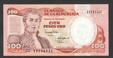 COLOMBIA  - 100  PESOS  ORO 1988  - P 426c   Uncirculated Banknotes