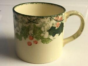 Poole Pottery Winter Vine Coffee/Tea Mugs (8)