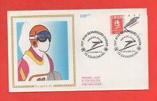 FDC 1990 - XVIe Jeux Olympiques d'Hiver - ALBERTVILLE 1992 - Saut à ski  (1164)