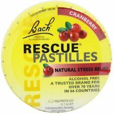 Rescue Remedy Pastilles, Bach Flower Remedies, 50 gram Cranberry 1 pack
