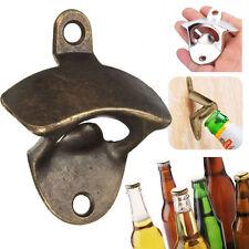 Bronze Metal Wall Mounted Beer Wine Bottle Cap Bar Opener Bar Kitchen Tool
