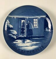 BING & GRONDAHL-1958 Christmas Plate- B&G-Royal Copenhagen 'SANTA CLAUS'-NEW!