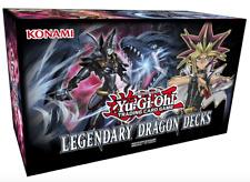 Yugioh - Legendary Dragon Box - DEUTSCH - Legendary Decks 3 Yu-Gi-Oh Karten OVP
