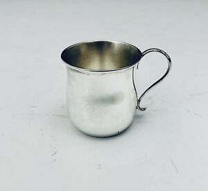 GORHAM STERLING SILVER  BABY CUP ~NEW