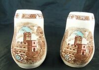 Ironstone Manor Vista by Style House Salt & Pepper Shaker Set Made in Japan