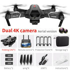 RC Drone 4K WIFI FPV Drone Dual Camera Quadcopter Obstacle Avoidance 3 Battery