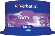 100 DVD Verbatim +R 4.7 GB 16x DVD+R URGENTE 24h y ORIGINALES 10 20 25 50 DVD+R