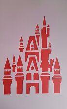 1106 Schablone Schloß Vintage Stanzschablone Shabby Wandtattoos Wandbild Stencil