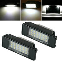 2X 18LED License Plate Lights For Peugeot 106/207/307/308/406/407/508/607/806 #K