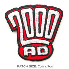 2000AD - Classic Comicbook Logo Patch: Dredd, Slaine...